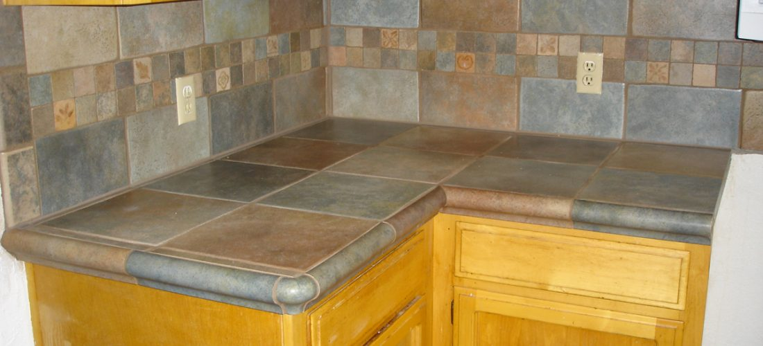 13x13-Porcelain-tile-countertops-and-backsplash,-tucson