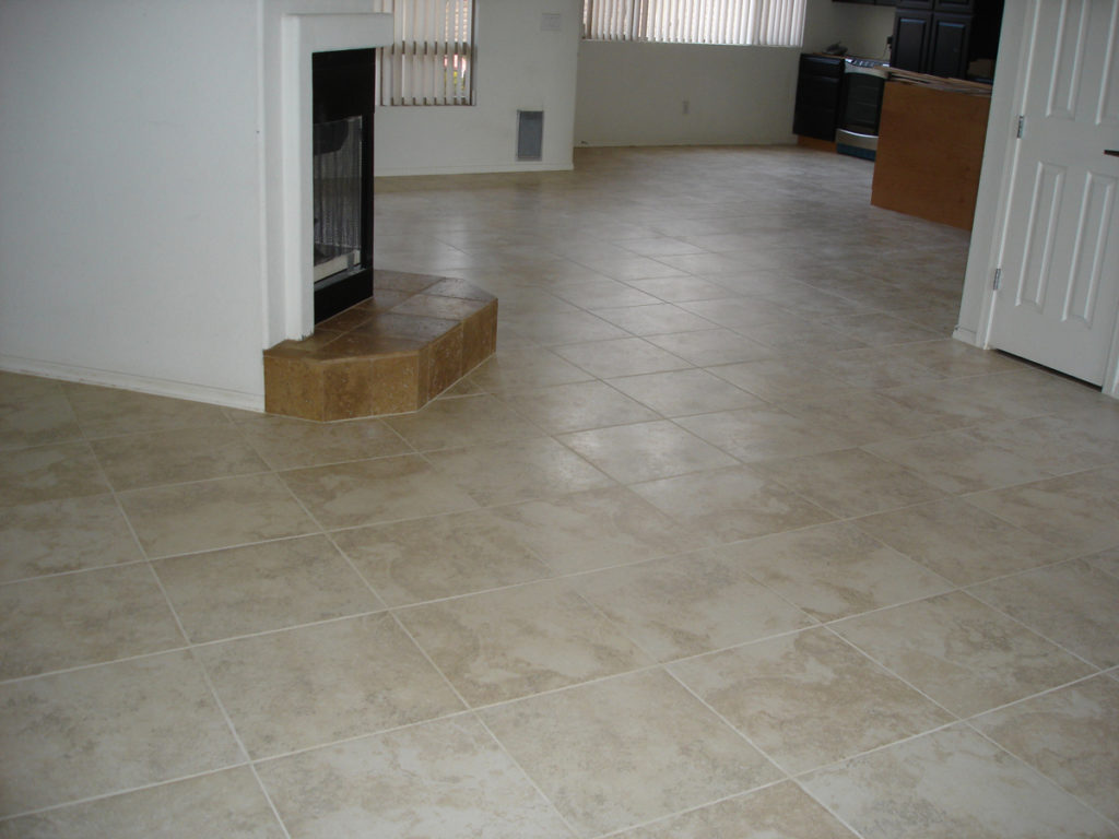 Miscellaneous tile installation tucsoncertified tile installer520 18x18 ceramic tile floor tucson dailygadgetfo Image collections
