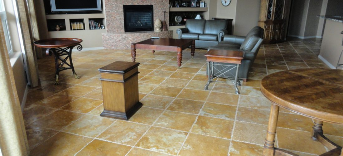 18x18-Chiseled-Travertine-Floor-Tile,-Stone-Canyon,-Tucson