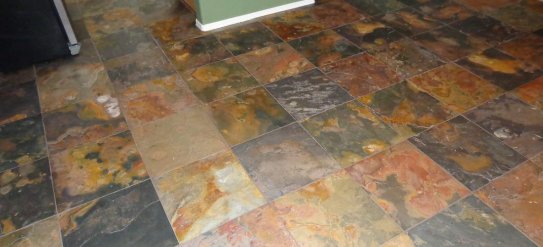 18x18-Slate-tile-kitchen-floor,-tucson