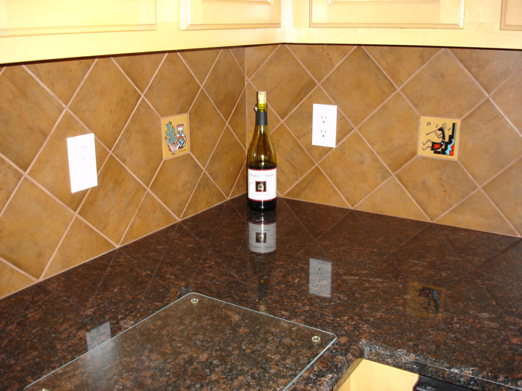 Deco tile floor and decorations collections floor and decorations kitchen tile installation tucson certified tile installer 520 6x6 ceramic tile diagonal on kitchen backsplash granite dailygadgetfo Image collections