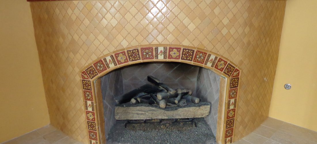 Fireplace-beehive-tile-installation_-tucson