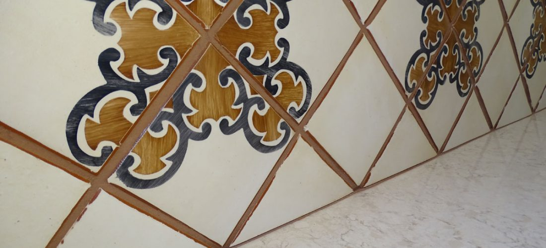 Handmade-Tile-backsplash,-Dove-Moutain,