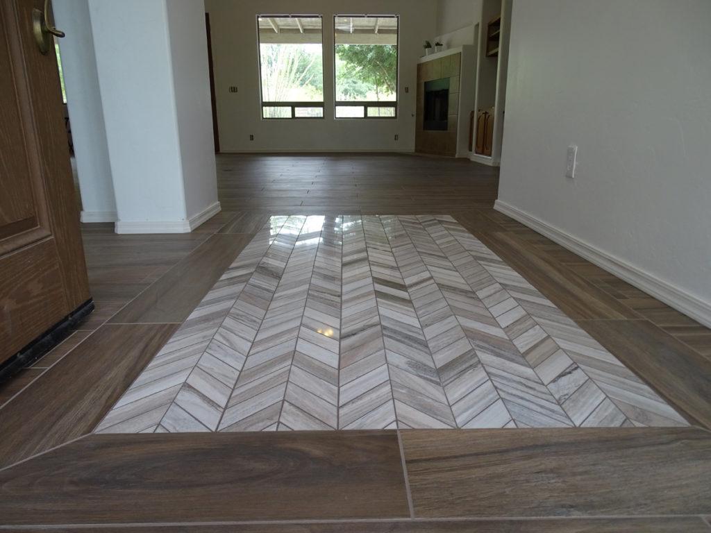 Foyer Tile Herringbone : Foyers mourelatos tile pro