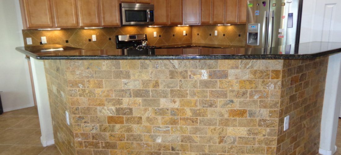 Natural-Stone-Kitchen-Island,-Tucson