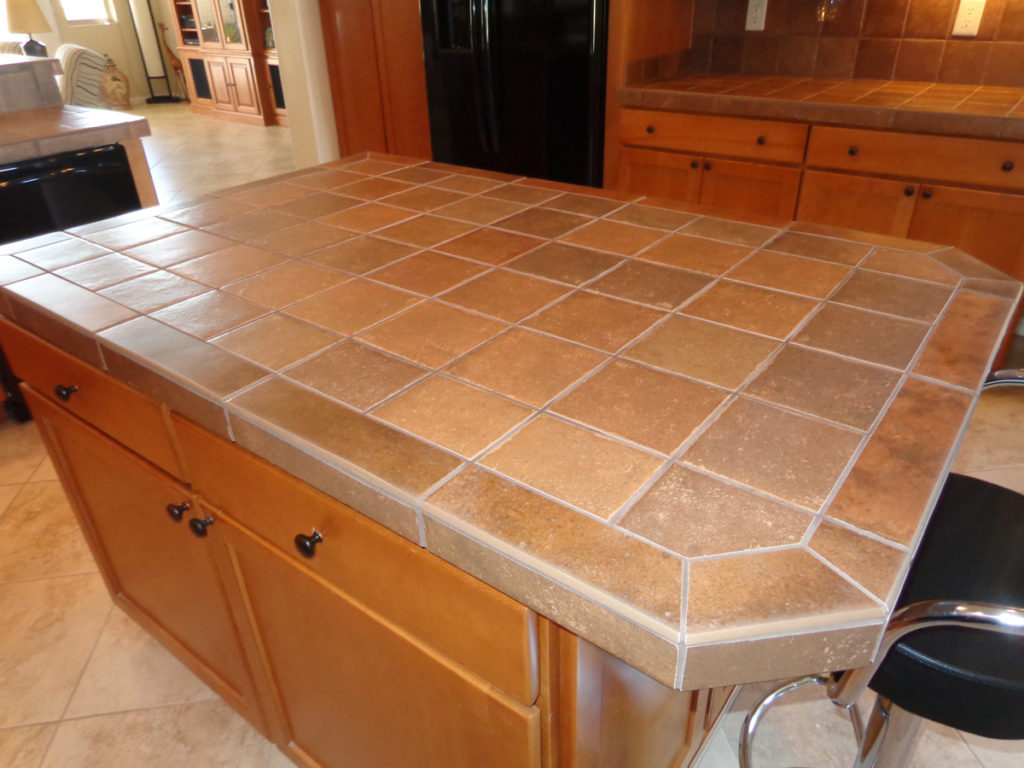 Ceramic porcelain tile installation tucson certified - Images of kitchen countertops ...