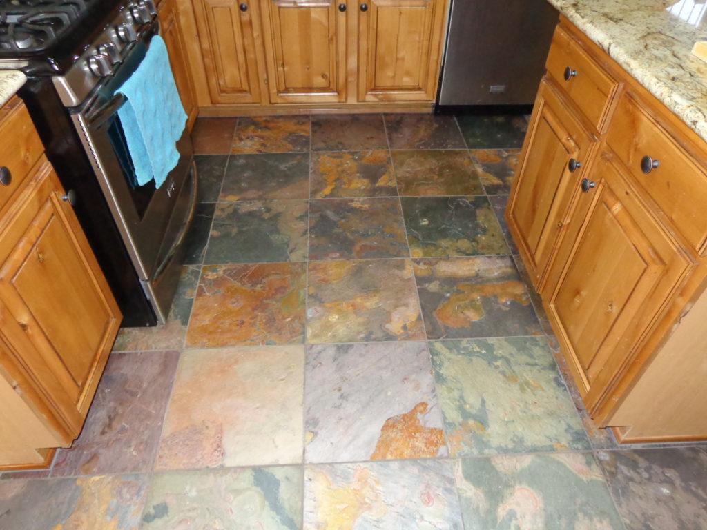 Slate Tile Kitchen Tucson
