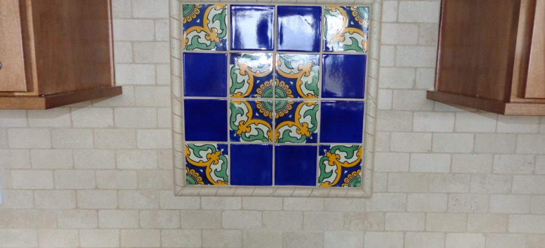 Talavera-tile-deco,-kitchen-backsplash,-tucson
