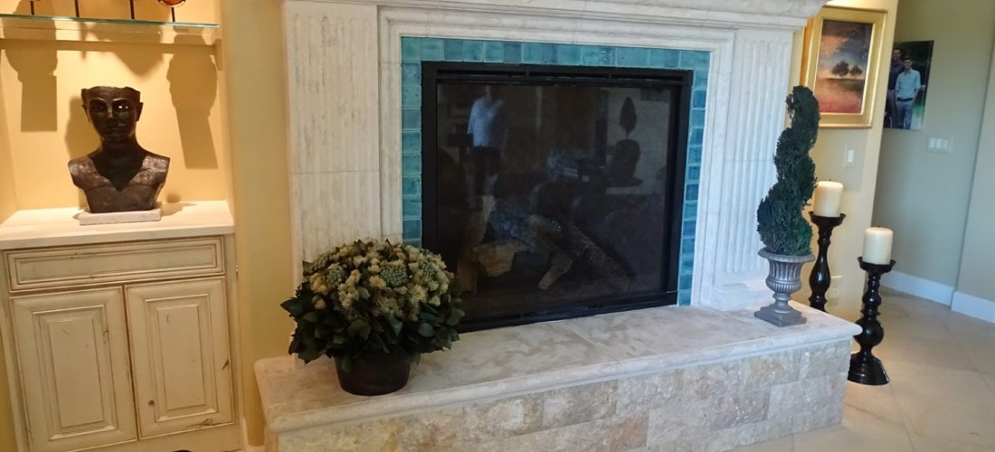 Tile-Fireplace,-Stone-Canyon,-Tucson