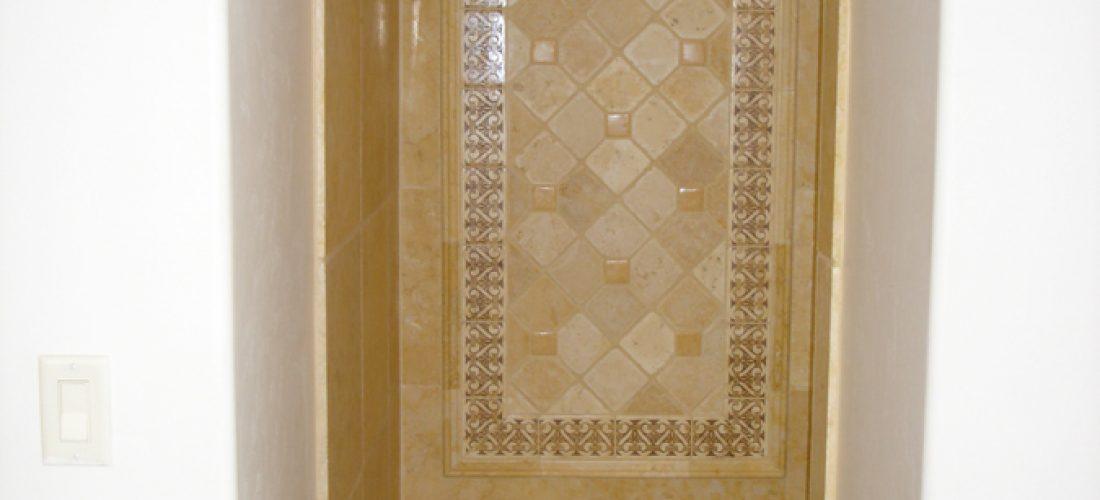 Tile-deco-panel,-master-bathroom-shower-tile-ideas,-tucson