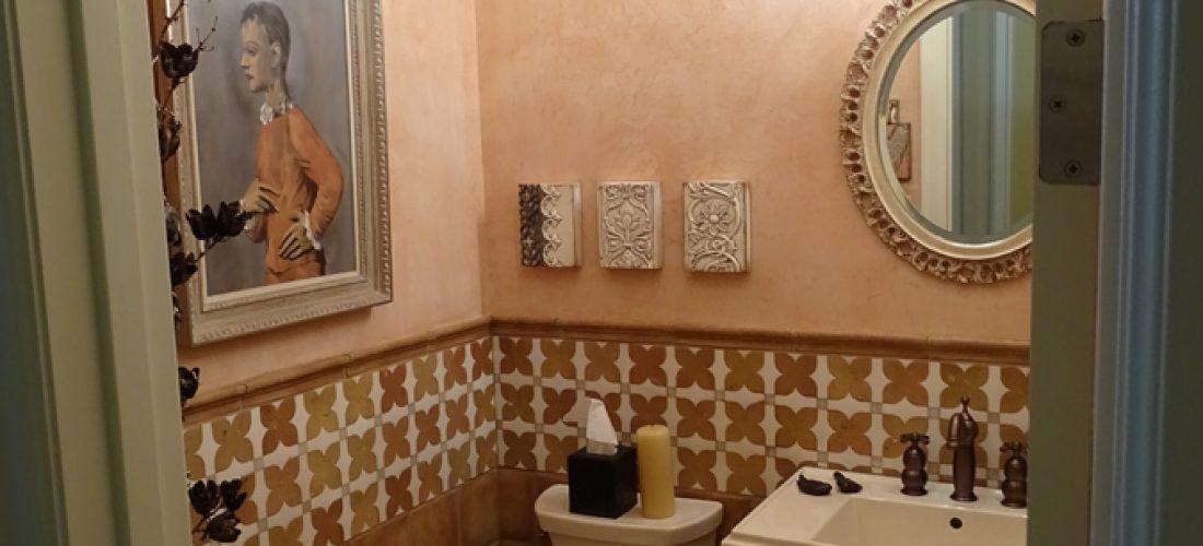 Wainscot-tile-marble,-Limestone,-Stone-Canyon,-Tucson