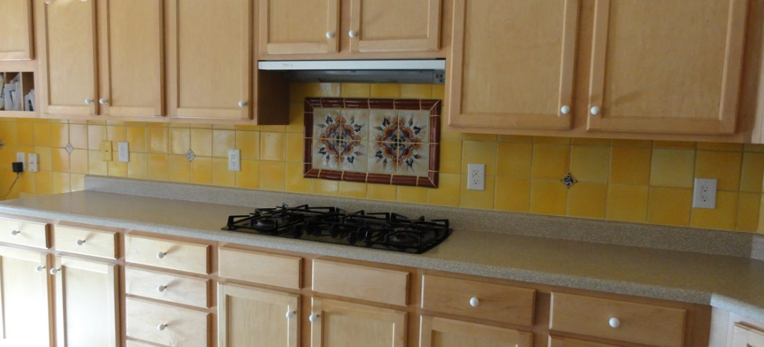 ... Ceramic Tile Kitchen Backsplash Tile, Deco Above Stove ...
