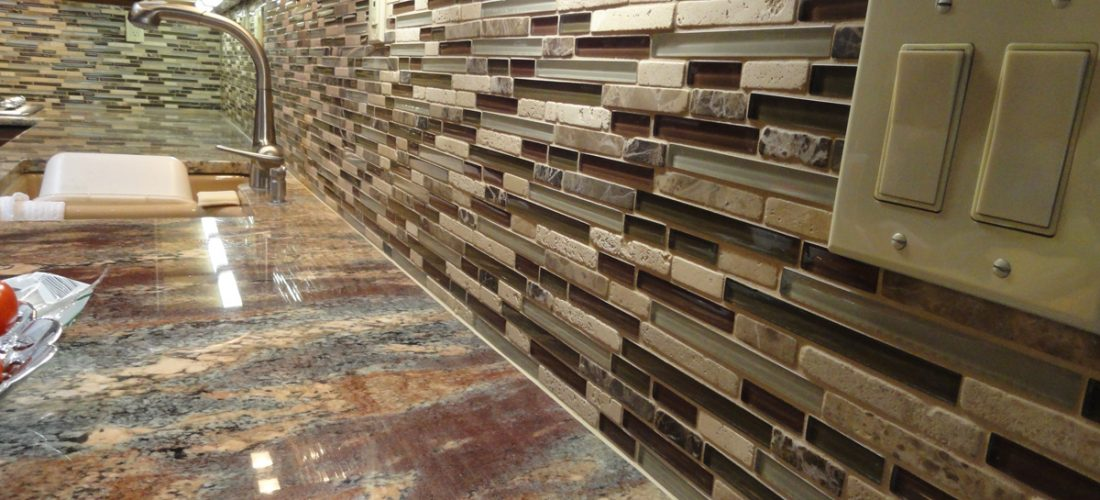glass-stone-blend-tile,-kitchen-backsplash,-tucson