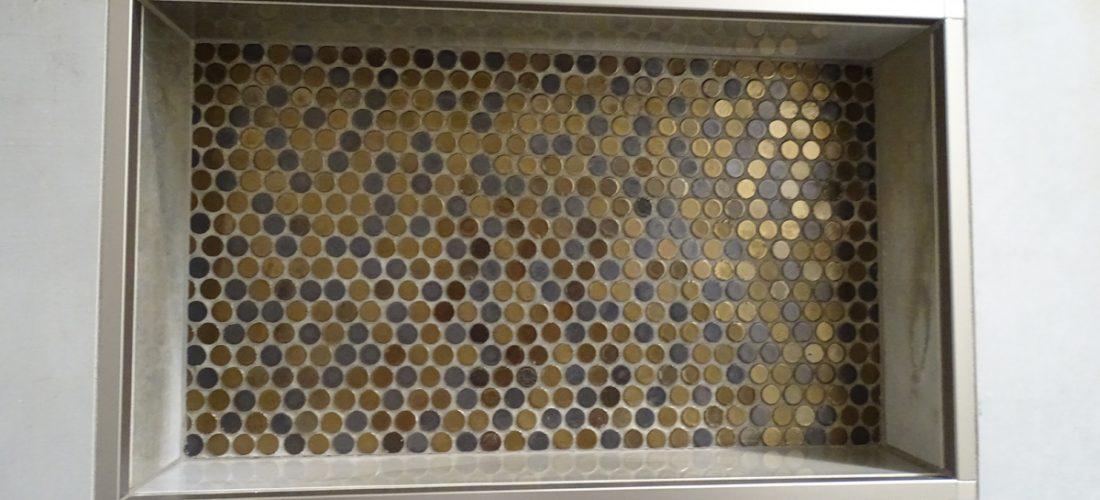 penny-round-mosaic,-shampoo-niche,-schluter-strip,-tucson