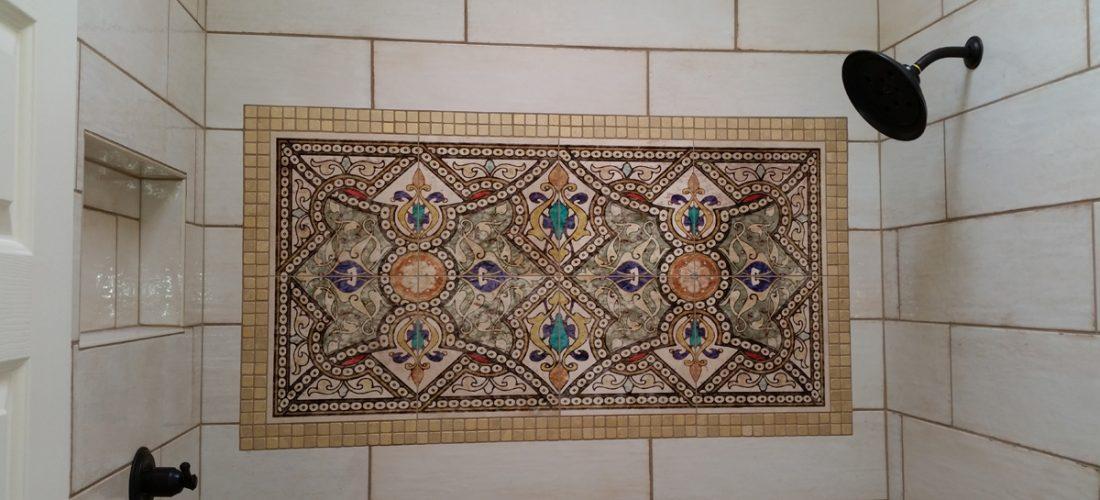 stone-impressions-tile-deco,-shower,-tucson